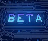 Beta-konzept. — Foto de Stock