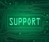 Support concept. — Stockfoto