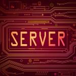 Server concept. — Stock Photo