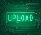 Upload concept. — Stock Photo