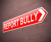 Bullying sign. — Stock Photo