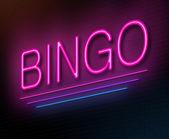 Concetto di bingo. — Foto Stock