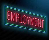Concetto di occupazione. — Foto Stock