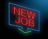 New job concept. — Stock Photo