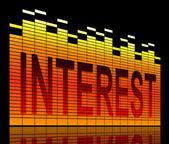 Interest concept. — Stock Photo