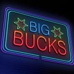Big bucks concept. — Stock Photo #40778113