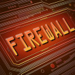 Stock Photo: Firewall concept.