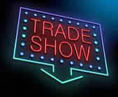 Trade show concept. — Stock Photo