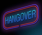 Hangover concept. — Stock Photo