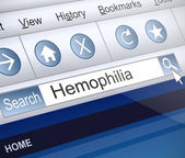 Hemophilia concept. — Stock Photo