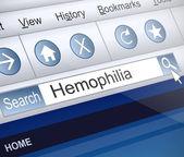 Hemophilia concept. — Стоковое фото