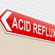 Stock Photo: Acid reflux concept.