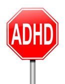ADHD concept. — Stock Photo