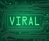 Viral concept. — Stock Photo