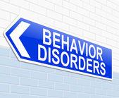 Behavior disorders concept. — Stock Photo