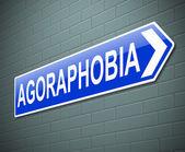 Agoraphobia concept. — ストック写真