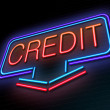 Credit concept. — Stock Photo