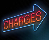 Charges concept. — Stock Photo
