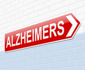 Alzheimers concept. — Stock Photo