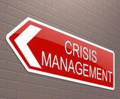 Crisis management concept. — Stock Photo