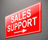 Sales support concept. — Stock Photo