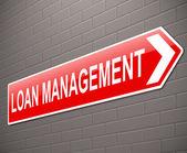 Loan management concept. — Stock Photo