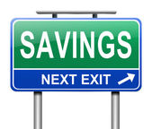 Savings concept. — Stock Photo