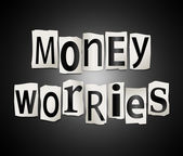 Money worries concept. — Stock Photo