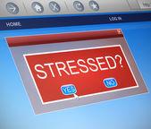 Stressed concept. — Stock Photo