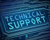 Technical support concept. — Stock Photo