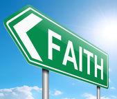 Faith concept. — Stock Photo