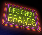 Designer brands concept. — Stock Photo