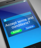 Terms and conditions concept. — Stock Photo