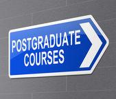 Postgraduate concept. — Stockfoto