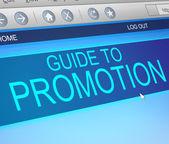 Promotion concept. — Stock Photo