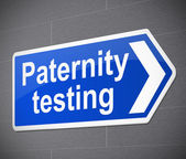 Paternity test concept. — Stock Photo