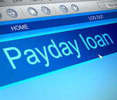 Payday loans. — Stock Photo