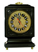 Old clock with roman numerals — Stock Photo