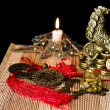 Chinese Feng Shui lucky Chinese things — Stock Photo #40194533