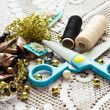 Stock Photo: Things for needlework