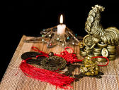 Chinese Feng Shui lucky Chinese things — ストック写真