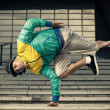 Hip Hop street dancer — Stock Photo