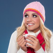 Winter woman — Stock Photo #39653875