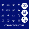 Connection icons — Stock Vector #37185087