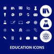 Education icons — Stock Vector #37185139