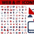 Web & it icons, signs, vector illustrations — Stock Vector #37185821