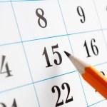 Calendar — Stock Photo #16895167