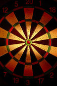 Target for darts — Stock Photo