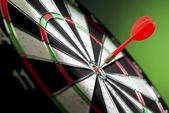 Darts arrows — Stock Photo
