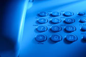 Keypad on a landline telephone — Stock Photo